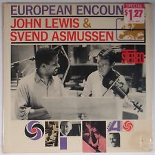 JOHN LEWIS & SVEND ASMUSSEN: European Encounter ATLANTIC ORIG jazz SEALED LP