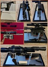 Master Replicas Star Wars Han Solo Blaster ANH 1:1 Scale SW-101 LE Complete Set
