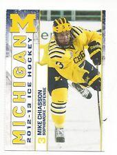 2012-13 Michigan Wolverines Mike Chiasson
