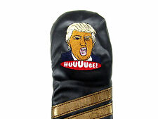 Sunfish leather fairway golf headcover - TRUMP - MAKE GOLF GREAT AGAIN