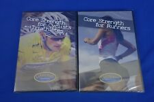 New *2 Pack*  CTS Carmichael Training Systems DVD Triathlon/Runners Package