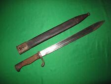 New listing German Ww1 Butcher Bayonet 1916 , Uncommon Maker R.Stock & Co Berlin Marienfelde