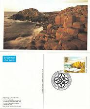 (06454) GB Air Card PHQ FDC 52d Giants Causeway National Trust Antrim July 1994