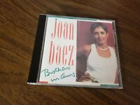 JOAN BAEZ BROTHERS IN ARMS VERY RARE OOP CD GOLD CASTLE RECORDS 1991