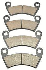 Race Driven Front /& Rear Brake Rotors /& Brake Pads for Polaris Ranger 500 570 700 800 900 1000 XP EPS//RZR Razor 4 800