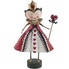 Lori Mitchell Alice in Wonderland Queen of Hearts Figurine Folk Art Figure 11022