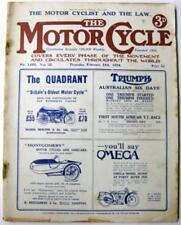 February Motor Cycle 1st Edition Transportation Magazines