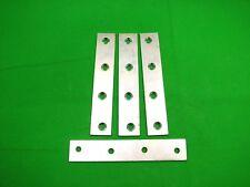 Plaque Réparation Bande 125 X 22mm (12.7cm) Droit Support de Fixation, Pack 4