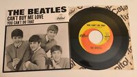 Beatles / Can't Buy Me Love & You Can't Do That / 2011 45 & Picture Sleeve  Mint