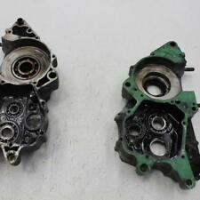 138 1984 honda cr250r cr 250 LEFT RIGHT ENGINE MOTOR CRANKCASE CRANK CASES BLOCK
