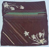 foulard schiaparelli paris pura seta 100% silk original made italy carré scarf