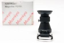 Mamiya RZ  Sucherlupe Magnifier FD701 RZ67 / RB67 für AE Prism Finder NEU / NEW