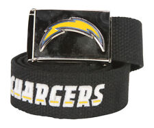 Web Belt with Buckle San Diego Chargers