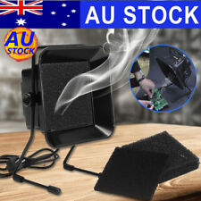 AU Solder Fume Smoke Absorber Extractor Fan+3X Activate Carbon Air Filter Sponge