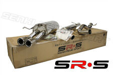 SR*S T-304 Stainless Steel Catback Exhaust VW Jetta 2003 2004 2005 2.0L 1.8T