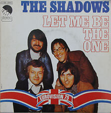 "Vinyle 45T The Shadows ""Let me be the one"""