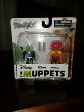 Disney The Muppets Mini Mates Tuxedo Kermit Animal NEW with Defects