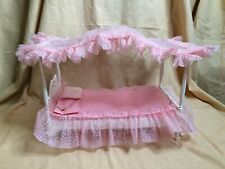 Vintage Barbie 4 Poster Canopy Bed 1963