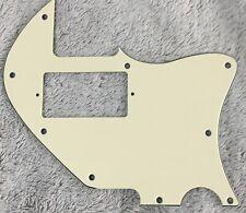 Fits Us Tele Merle Haggard f hole Thinline Paf Guitar Pickguard,Vintage Yellow