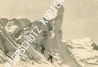 Séracs des Bossongletschers am Aufstieg zum Montblanc - um 1910     Y 37-2