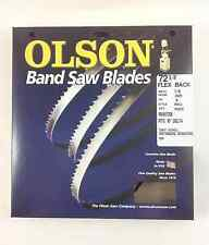 "Olson Band Saw Blade 72-1/2"" to 72-5/8"" x 1/8"", 14TPI for Delta 28-195 & others"