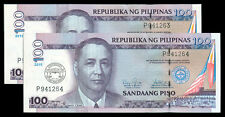 2011 100 Pesos 100 Yrs UP COLLEGE LAW SCHOOL Ovpt  2 consecutive Ser # Banknote