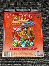 """""""Zelda: Oracle of Seasons & Ages"""" Dual Strat. Guide Brand New/Mint  Ships Boxed!"""