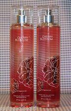 2 Bath & Body Works CHERRY BLOSSOM Fine Fragrance Mist Spray