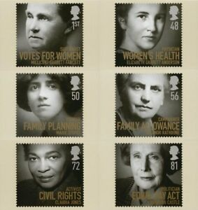 14 OCTOBER 2008 WOMEN OF DISTINCTION SET OF PHQ CARDS  315 MINT