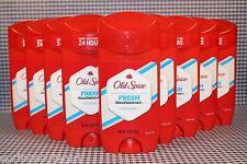 9 Old Spice High Endurance FRESH Long Lasting Stick Deodorant 3.0 oz ea