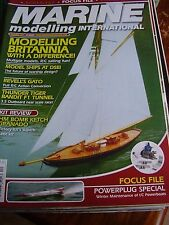 MODEL BOAT MARINE MODELLING DEC 2007 BRITANNIA THUNDER TIGER BANDIT 3.5 GATO SUB