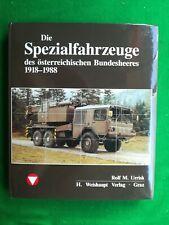 book Austrian Army special vehicles 1918 1988 Die Fahrzeuge Flugzeuge Uniformen
