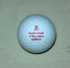 2009 ALABAMA CRIMSON TIDE NATIONAL CHAMPS GOLF BALL