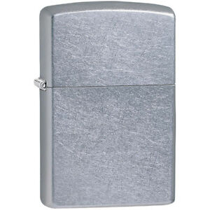Zippo Street Chrome Pocket Lighter