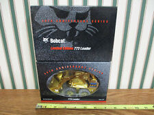 Bobcat 773 Skid Loader 50th Anniversary Gold Edition 1/25th Scale