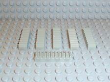 LEGO® Technic Zubehör 6x Zahnstange Zahnschiene 1x4 alt-hellgrau 3743 K331