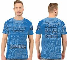State of origin NSW, place I call home, men T  shirt