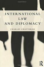 International Law and Diplomacy, Chatterjee 9781857435863 Fast Free Shipping**