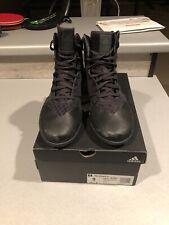Adidas Mat Wizard 4 Wrestling Boots Shoes Men's Size 9 Carbon Black