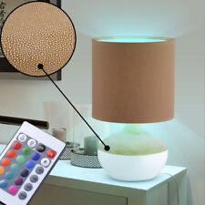 LED RVB pied Lampe de table Variateur Télécommande LA VIE chambre nuit lumière