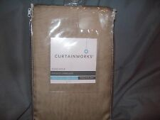curtainworks soho voile one pinch pleat panel 29in x 132in- antique NEW!!!