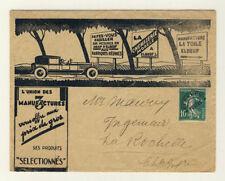 Timbres français oblitérés de 1921 à 1930 verts