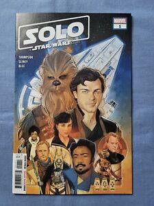 SOLO: A Star Wars Story 1 • NM • Marvel Comic 2019 KEY 1st Qi'ra & Lady Proxima