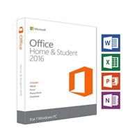 Microsoft Office 2016 Home and Student for Windows PC