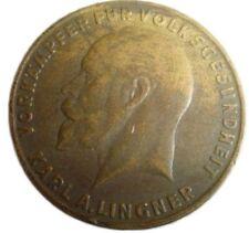 A411) Medaille 15 Vorkämpfer für Volksgesundheit Karl A. Lingner