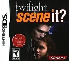 Scene It Twilight (Nintendo DS, 2010) GAME ONLY NICE SHAPE WORKS WELL NES HQ