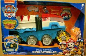 PAW Patrol Dino Rescue Motorised Dino Patroller Team Vehicle - NEW EX DISPLAY