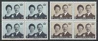 Luxembourg 1964 Sc# 415-16 set Jean & Josephine Grand Duke & Duchess blocks4 MNH