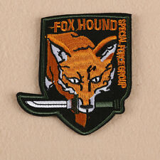 Embroidered Sew Iron on Patch Fox Jacket Badge Applique Fabric Cloth Bag Craft