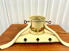 Vintage 1930's Noma Illuminated Christmas Tree Stand W/ Nursery Rythme